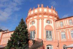 Weihnachten in Wiesbaden lizenzfreie stockfotografie