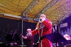Weihnachten in Wiesbaden stockfotografie