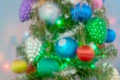 Weihnachten wird gefeiert Stockfoto