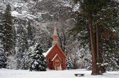 Weihnachten in Yosemite Lizenzfreie Stockbilder