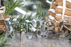 Weihnachten-Zeichen Stockbild
