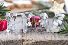 Weihnachten-Zeichen Lizenzfreies Stockfoto