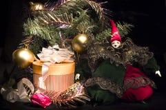 Weihnachtenarrangment Stockbild