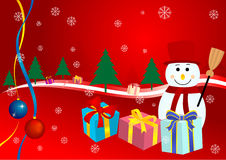 Weihnachtenbackgroun Lizenzfreie Stockfotografie