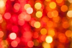 Weihnachtenbokeh stockfotos