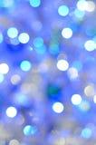 Weihnachtenbokeh Lizenzfreies Stockfoto