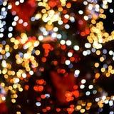 Weihnachtenbokeh Stockbilder
