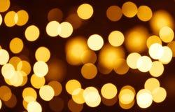 Weihnachtenbokeh Hintergrund Lizenzfreie Stockfotografie