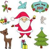 Weihnachtenc$clipkunst stock abbildung
