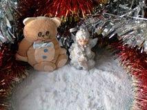 Weihnachtenc$nochlebensdauer 3 stockfotos