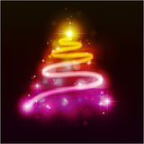 Weihnachtenc$pelzbaum. Stockbild
