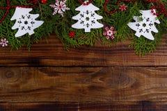 Weihnachtenfestliches backround Lizenzfreies Stockfoto