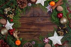Weihnachtenfestliches backround Lizenzfreie Stockbilder