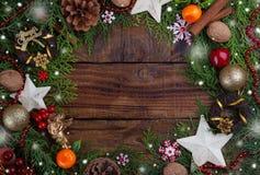 Weihnachtenfestliches backround Lizenzfreies Stockbild
