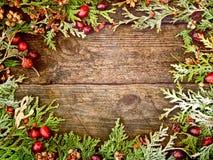 Weihnachtengrunge Hintergrund stockfotos