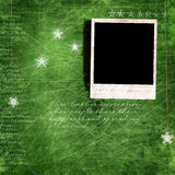 Weihnachtengrunge Hintergrund Stockfoto