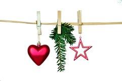Weihnachtenliebeshintergrund Stockbild