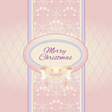 Weihnachtenornamentalhintergrund Lizenzfreie Stockfotografie
