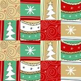Weihnachtenpathwork Lizenzfreie Stockfotografie