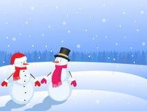 Weihnachtensnowmans Stockfotos