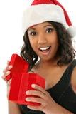 Weihnachtsüberraschung Stockbild