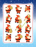Weihnachtsübung Lizenzfreies Stockfoto