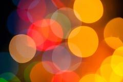 Weihnachts-bokeh Lizenzfreie Stockfotografie