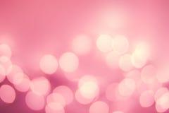 Weihnachts-Defocused Gold-Bokeh-Licht Weinlesehintergrund Elegant Lizenzfreies Stockbild
