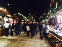weihnachts markt royalty-vrije stock afbeeldingen