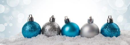 Weihnachts- oder des neuen Jahreskarte Lizenzfreies Stockfoto
