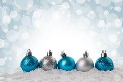 Weihnachts- oder des neuen Jahreskarte Stockfoto