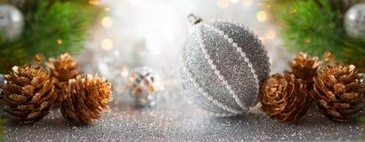 Weihnachts- oder des neuen Jahreskonzept Lizenzfreie Stockbilder