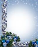 Weihnachts-oder Hanukkah-Hintergrund lizenzfreie abbildung