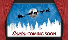 Weihnachts-Sankt-Stadium Stockbild