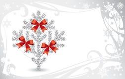 Weihnachts- u. des neuen Jahreskarte Stockbild