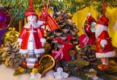 Weihnachts- und des neuen Jahresdekoration Lizenzfreie Stockbilder