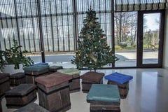 Weihnachts- und des neuen Jahresdekoration Stockfoto