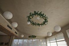 Weihnachts- und des neuen Jahresdekorationen Stockbilder