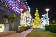 Weihnachts- und des neuen Jahresfeiern Lizenzfreies Stockfoto