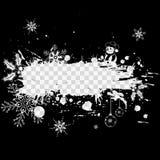 Weihnachts- und des neuen Jahresfeld stock abbildung
