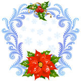 Weihnachts- und des neuen Jahresgrußkarte 5 Lizenzfreies Stockbild