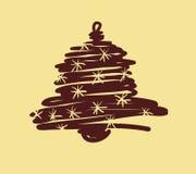 Weihnachts- und des neuen Jahreshandgemalte Dekoration Lizenzfreie Stockfotos