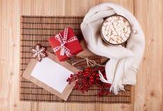 Weihnachts- und des neuen Jahreshintergrund Lizenzfreie Stockbilder