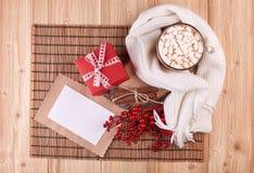 Weihnachts- und des neuen Jahreshintergrund Lizenzfreie Stockfotografie