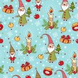 Weihnachts- und des neuen Jahreshintergrund. vektor abbildung