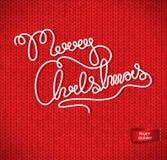 Weihnachts- und des neuen Jahreshintergrund Lizenzfreies Stockbild