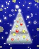 Weihnachts- und des neuen Jahreshintergrund stock abbildung