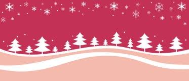 Weihnachts- und des neuen Jahreshintergrundbaum    stock abbildung