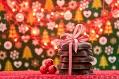 Weihnachts- und des neuen Jahresplätzchen Lizenzfreie Stockfotografie