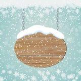 Weihnachts- und des neuen Jahresretrostilvektorhintergrund lizenzfreie abbildung